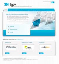 Screen Startseite HPV