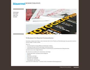 Screen Startseite Blauermel Kommunikation