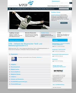 Screen Startseite VTB