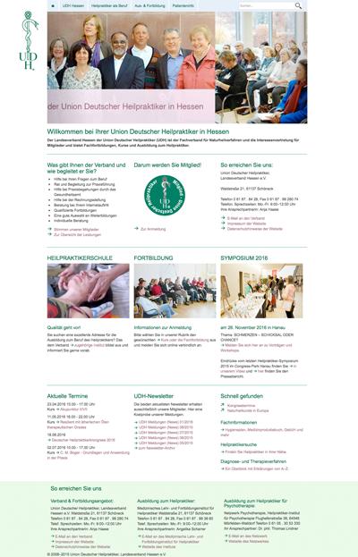 Screen Startseite UDH