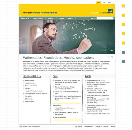 Screen Startseite HCM