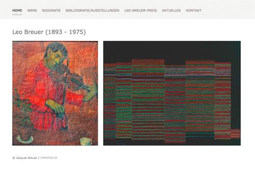 Screen Startseite Leo Breuer